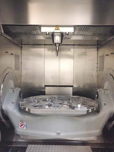 Hermle 5-Axis CNC Vertical Machining Center