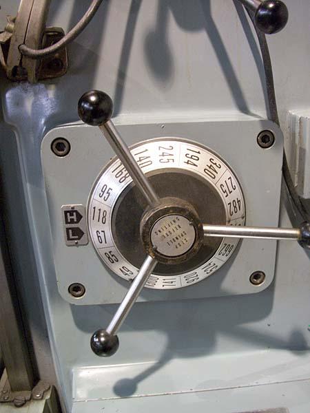 "#2 Supermax YCM Horizontal Milling Machine, Model 2H, 11"" x 51"" Table, X=39-3/8"", X=17-3/4"", 5 HP, 49-1300 RPM, Power Table Feeds, New 1990."