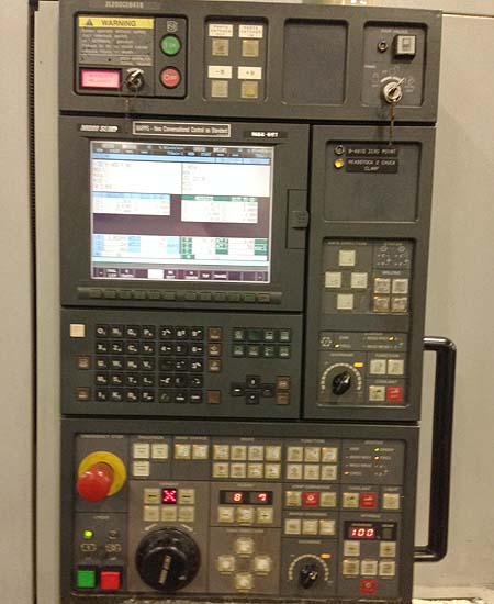 "MORI SEIKI ZL-203 SMC, Mori MSC-501 (Fanuc 18iTA) CNC Control, Twin Turret, Live Tooling, Sub-Spindle, 8"" Chuck, 20"" Swing, 19"" Turning Length, New 2003."