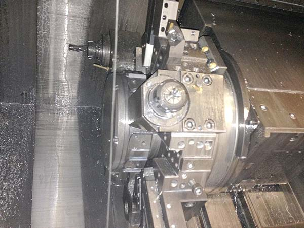 "MORI SEIKI ZL-203 SMC, Mori MSC-501 (Fanuc 18iTA) CNC Control, Twin Turret, Live Tooling, Sub-Spindle, 8"" Chuck, 20"" Swing, 19"" Turning Length, New 2003."