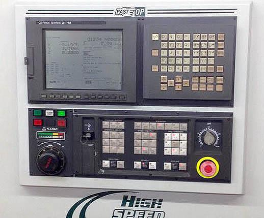 """BRIDGEPORT VMC3016, Fanuc 21i CNC Control, X=30"""", Y=16"""", Z=20"""", 22 ATC, 7500 RPM, 40 Taper, New 2001."""