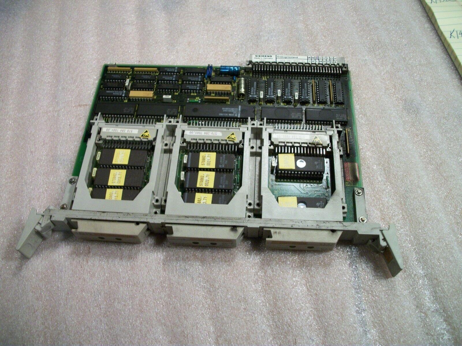 Siemens CNC Control Circuit Board 570 281 9002.3 / OE 570281.0001.03