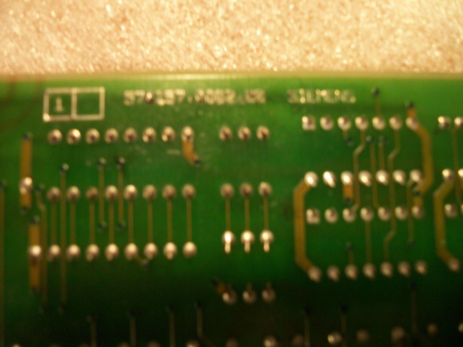 Siemens CNC Control Circuit Board 570 257 9101.00 / OE 570257.0002.00