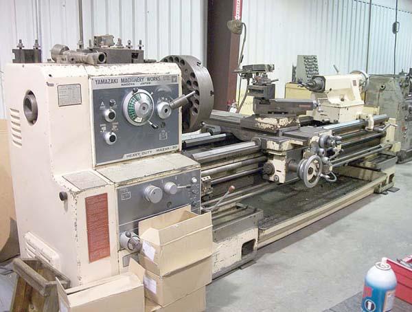 "30"" X 80"" Mazak Heavy Duty Gap Bed Engine Lathe"