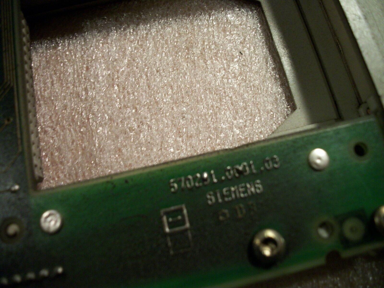 Siemens CNC Control Circuit Board 570 221 9002.03 / OE 570281.0001.03