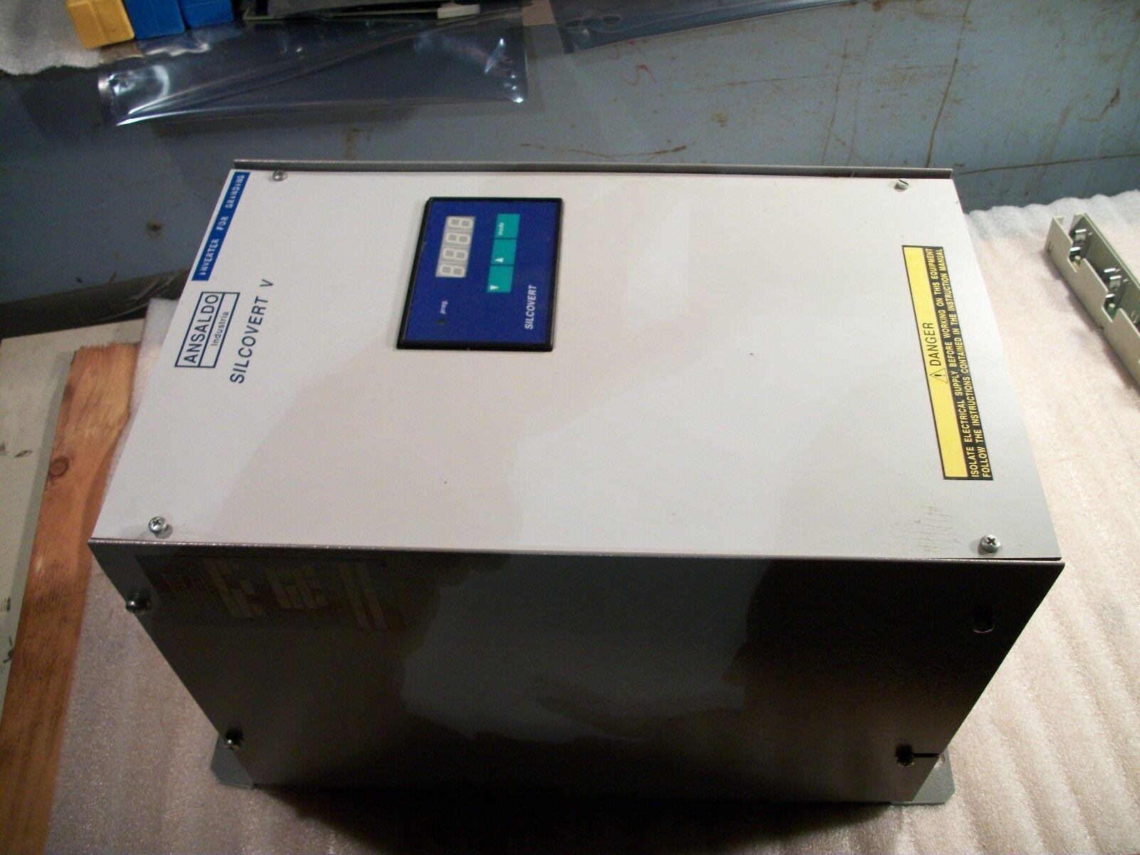 Ansaldo Spindle Drive Motor Control SV VP/22 FB 440 Volt for 18.5 KW Motor