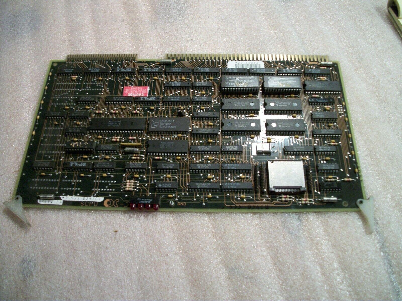 Cincinnati Acramatic Control Circuit Board 3-533-0341G