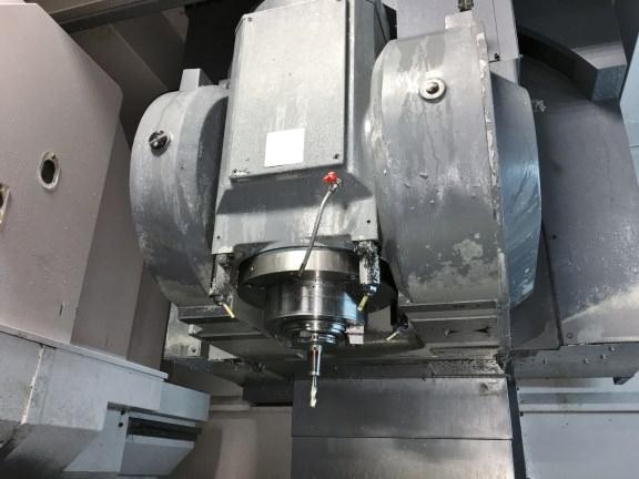 "OKUMA 853PF-5X 5-Axis Vertical Machining Center, Fanuc 31i CNC, X-120"", Y=33"", Z=27.5"", Tilt & Swivel Spindle, 50 Taper, 100000 rpm, New 2007."