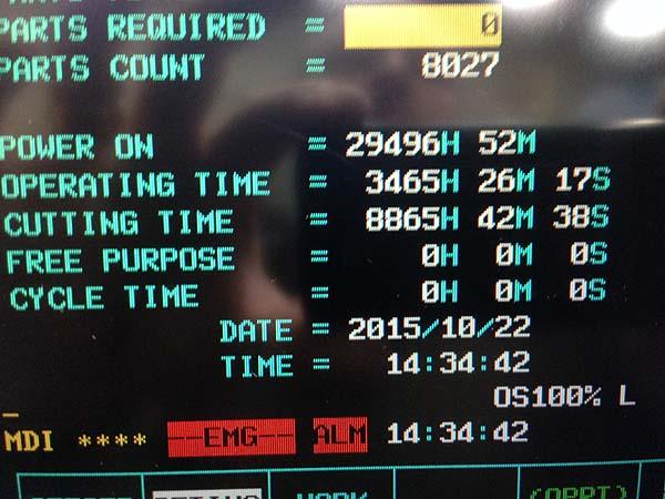 "MORI SEIKI MV-653, MSC-501 Fanuc 18iM CNC, 67"" x 26"" Table, X=60"", Y=27"", Z=27"", 50-Taper, 6000 RPM, 30 Station Tool Changer, 4th Axis Rotary Table, New 2000."
