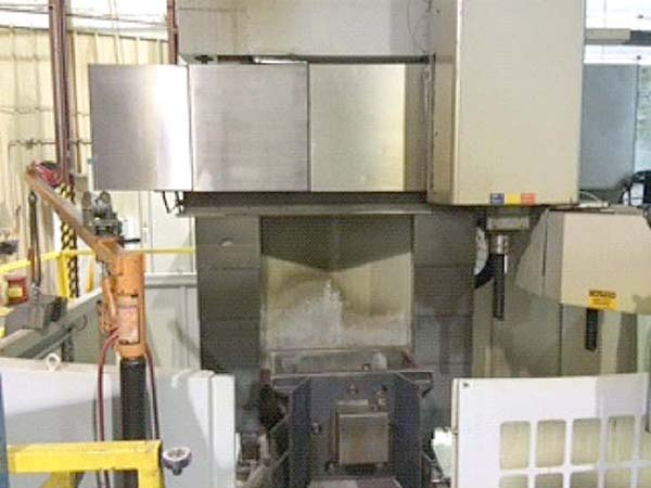 """49"""" QIQIHAR CNC VERTICAL BORING MILL, Model SVT-160, 49"""" Table, 63"""" Swing, 63"""" Under the Rail, 10 Station Tool Change, 70HP, New 2006."""