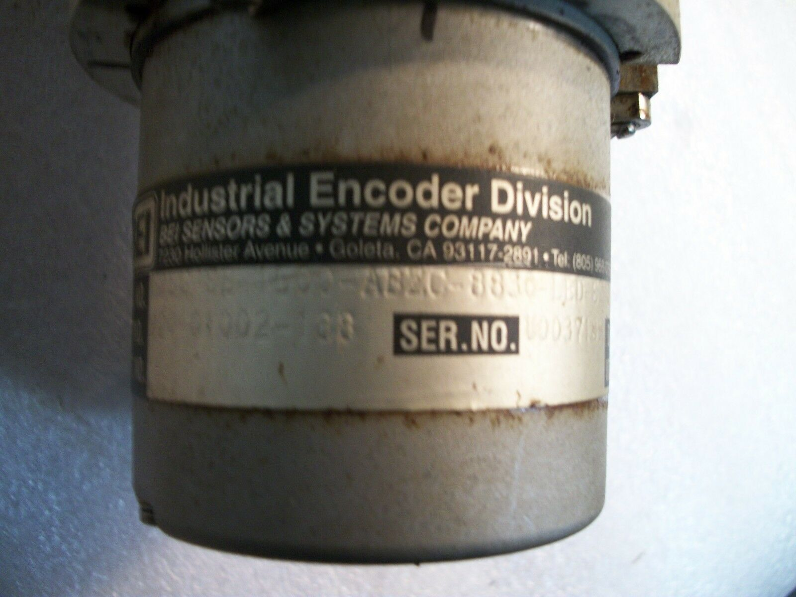 Industrial Drive DC Motor TTE-2042-3054-A-44 Turret Index Motor with BEI Encoder