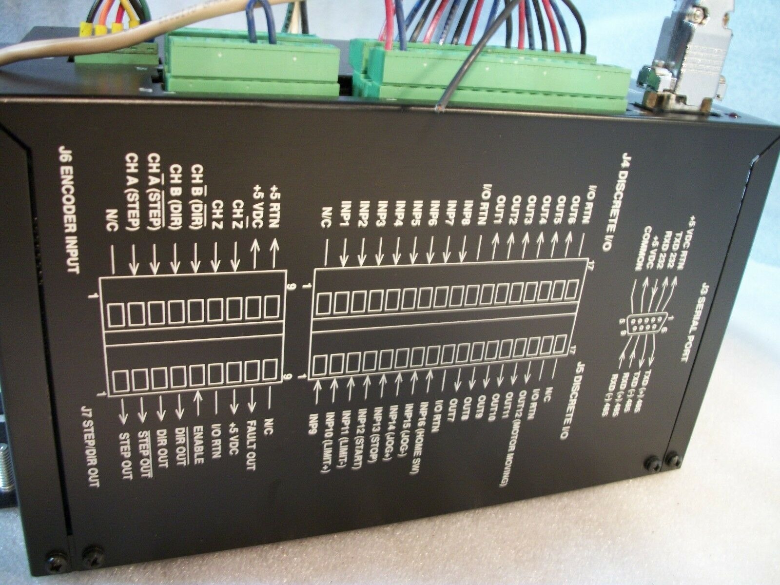 Pacific Scientific 5445 Indexer Drive 115VAC 1 Ph 3 Amp Motor Controller