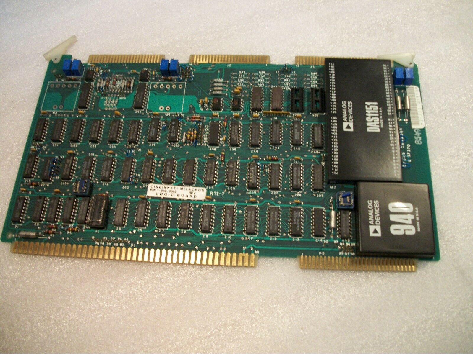 Cincinnati Acramatic Siemens Control Board # 3-711-2444G Logic Board