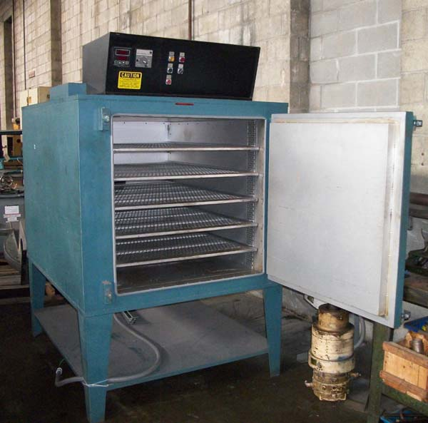"""GRIEVE OVEN 36"""" x 48"""" x 36"""" Model AG-500, 500 Degree, Electric, Watlow Control, New 1993."""
