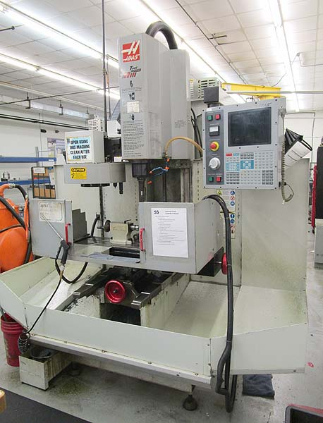 HAAS TM-1 CNC Toolroom Mill W/ Rotary Table & Automatic Tool Changer