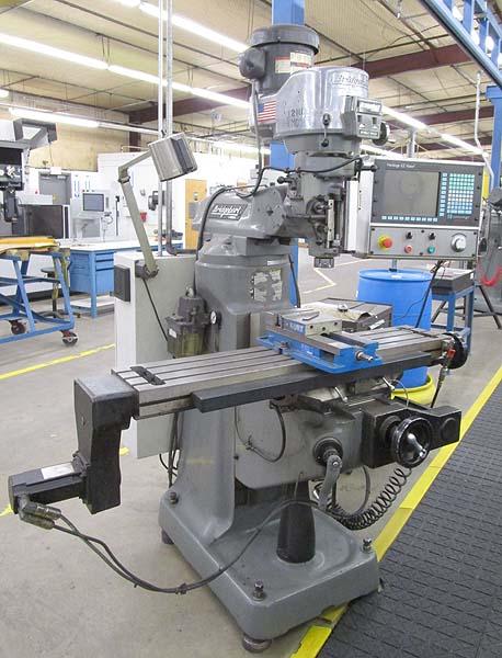 Bridgeport Hardinge EZ-Vision CNC Vertical Milling Machine