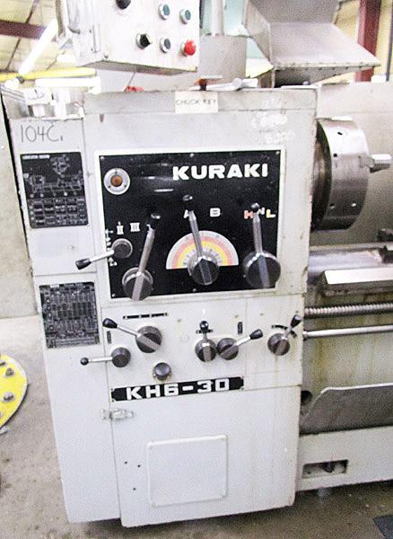 """Kuraki 25"""" X 120"""" Oil Country Lathe With 5-1/2"""" Bore"""