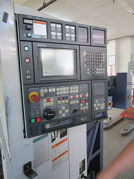 Mori Seiki SL-150Y CNC Turning Center With Live Tooling & Y-Axis