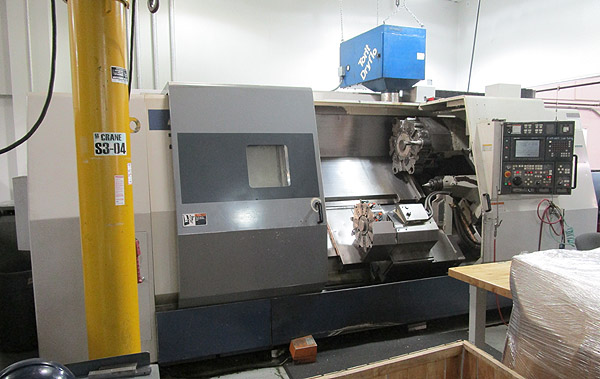 Mori Seiki Twin Turret CNC Turning Center With Live Tooling