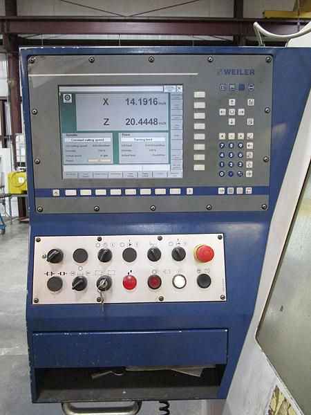 Weiler E70/3000 CNC Flat Bed CNC Turning Center