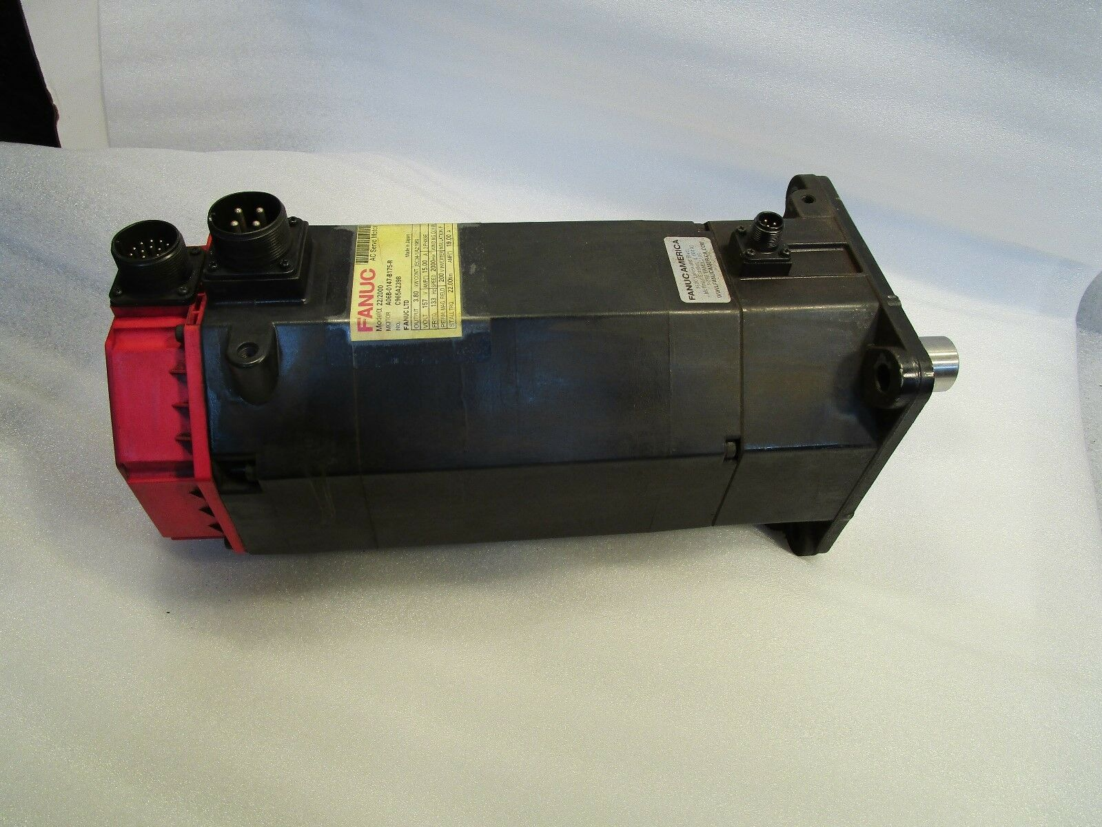 Fanuc Servo Motor Alpha 22/2000 A06B-0147-B175-R Servo Motor