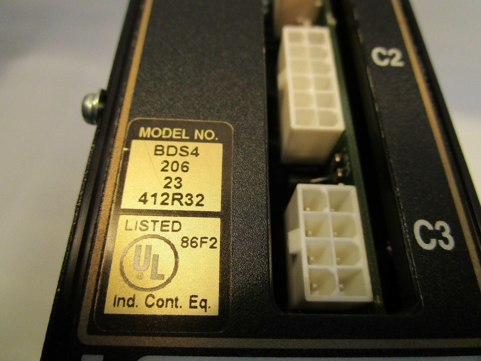Kollmorgen Cincinnati Servo amplifier module Servo Axis Drive BDS4-206-23-412R32