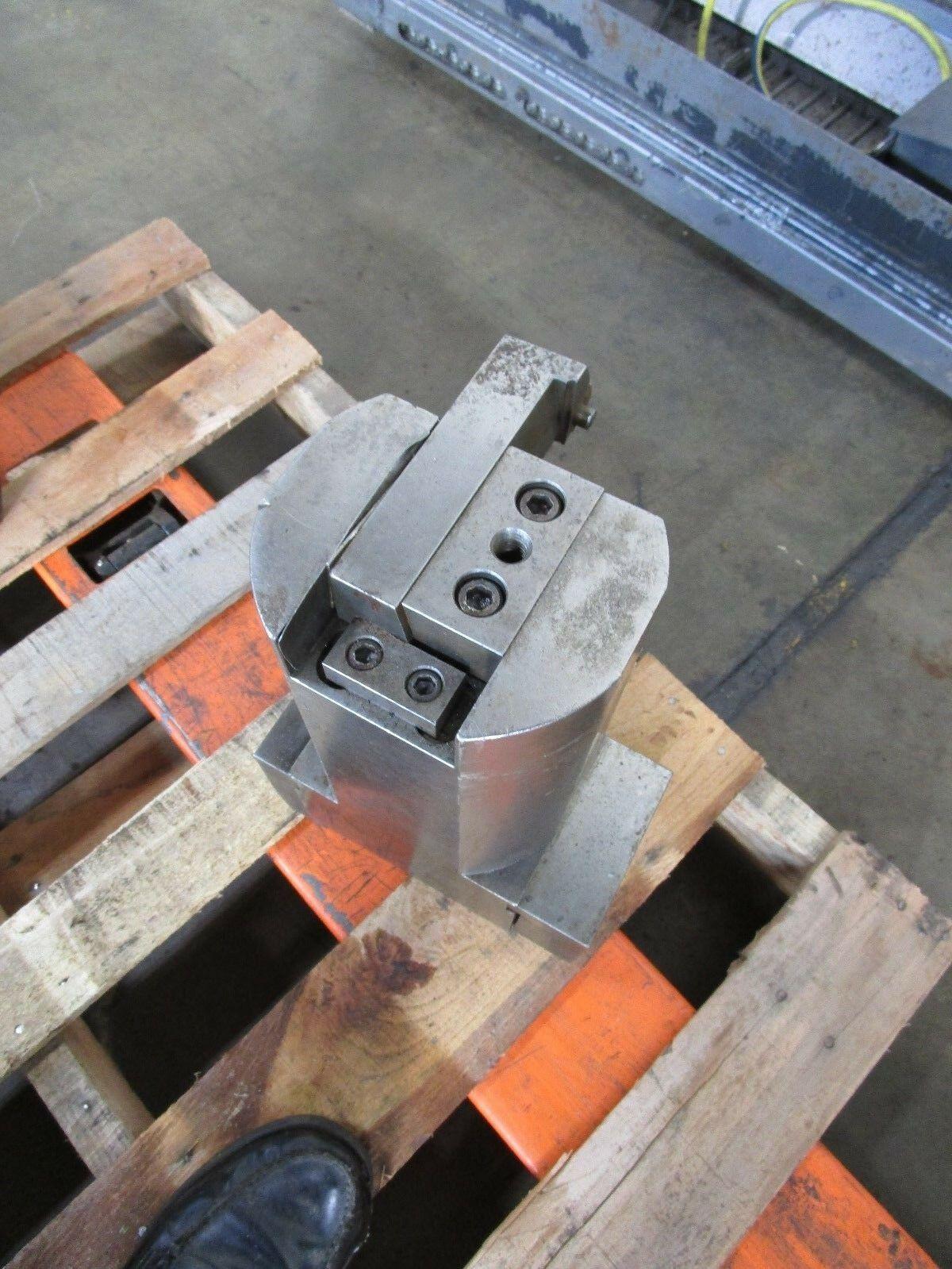 "Bullard Dynautrol Dynautape 6"" Dove Tail Tool Block Ext Length Holder E-2-0105"