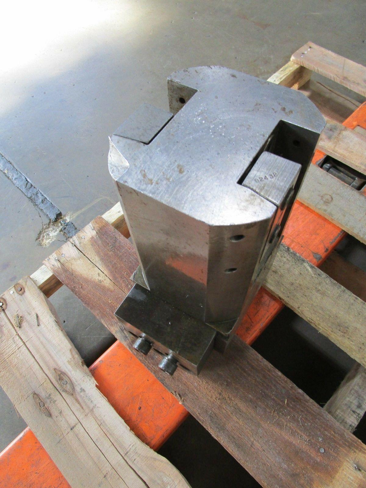 "Bullard Dynautrol Dynautape 6"" Dove Tail Tool Block Ext Length Holder E-2-0103"