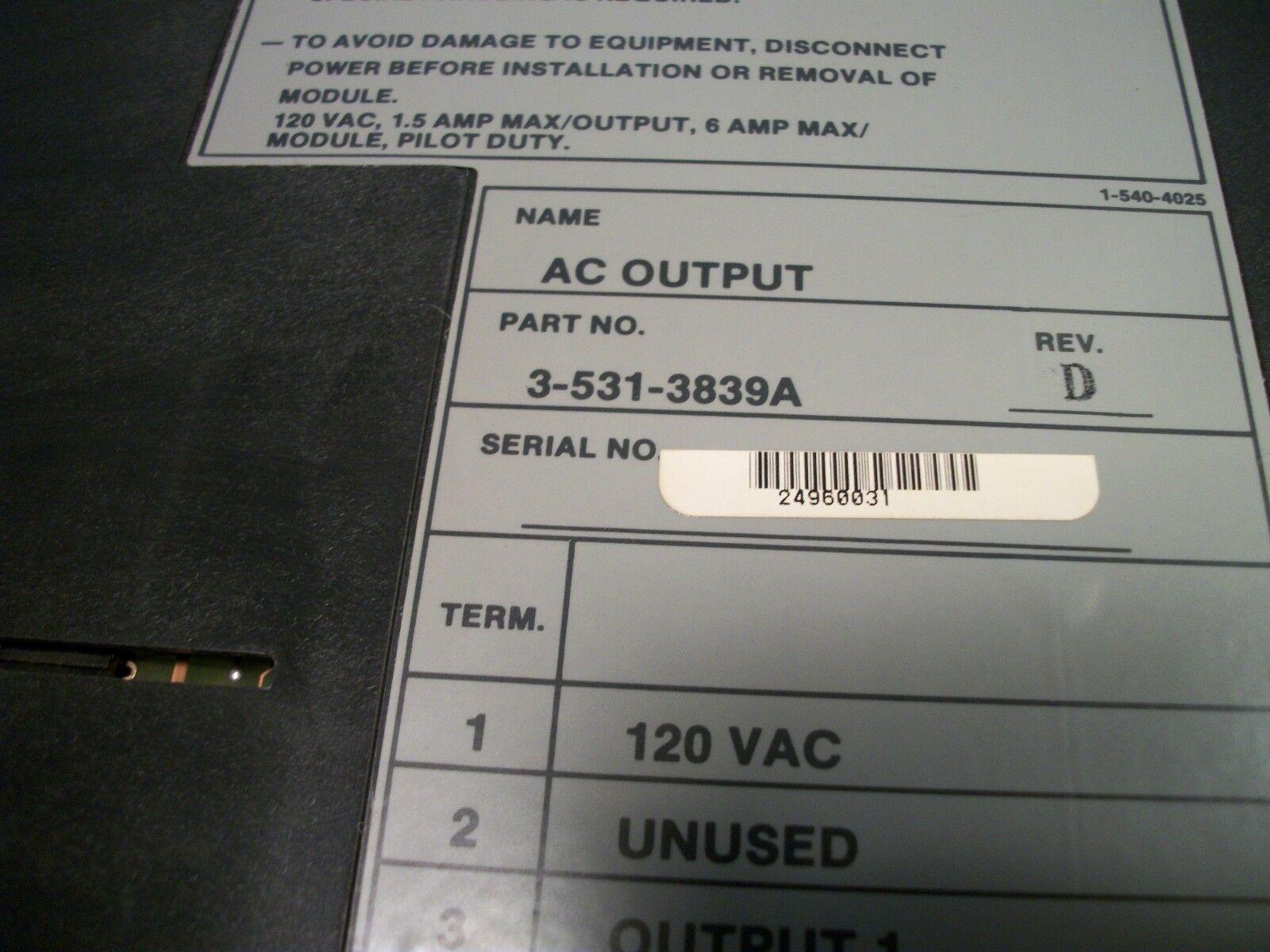 Cincinnati Milacron Siemens CNC Control Circuit I/O Board 3-531-3839A