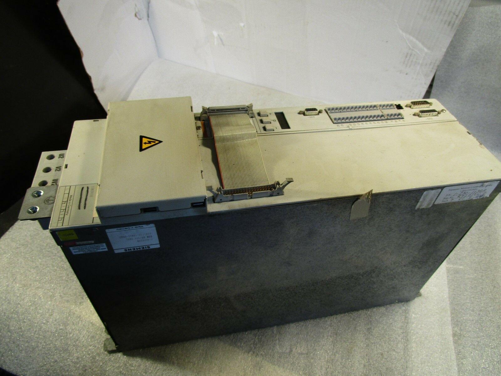 Siemens Module Simodrive HSA 60/80 6SN1135-1BA11-0EA0