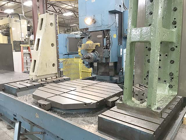 "CINCINNATI 25HC100, Fanuc 15M CNC Control, 48"" x 96"" Table, 48"" Built In Rotary Table with 1 Degree Indexing, X-100"", Y=60"", Z=48"", Cat-50, 3000 RPM, King Tool Retrofit in 1994."