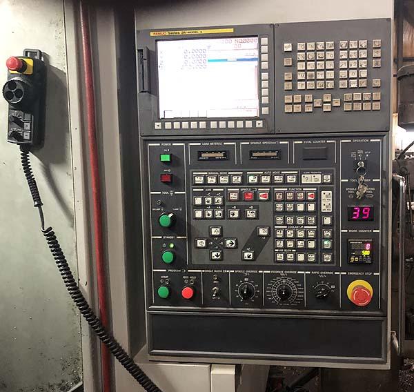 "HYUNDAI WIA HS500, Fanuc 31i CNC Control, (2) 20"" Pallets, X=33"",Y=27"",Z-30"", Cat-40, 15,000 rpm, New 2011."
