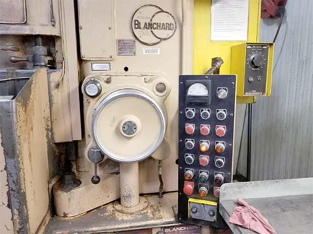 "BLANCHARD #22K-42, 42"" Magnetic Chuck, 12"" Vertical Capacity, 40 HP, Wet Base, New 1978."