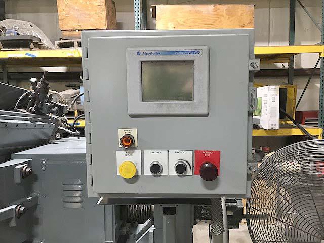 "340-20 CINCINNATI MILACRON 'TWIN GRIP', PLC Control, 6"" Max Diameter, 20"" Wide Wheel, Thru-Feed, 2012 Rebuild and Retro. New Spindle."