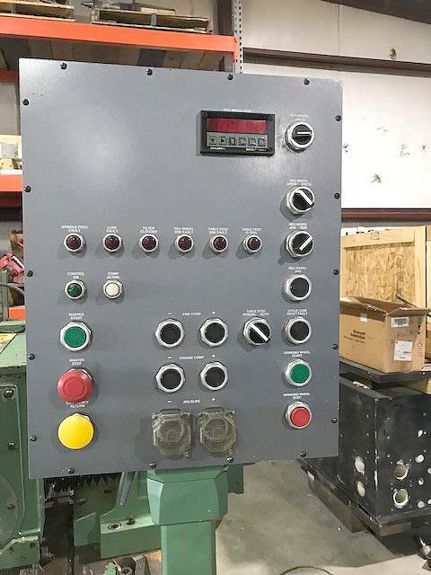 "340-20 CINCINNATI MILACRON 'Twin Grip', PLC Control, 6"" Max Diameter, 20"" Wide Wheel, Thru-Feed, 2003 Rebuild and Retro."