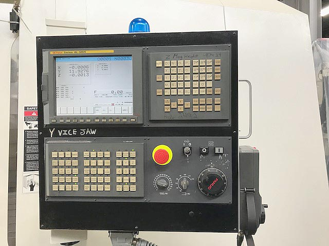 "FADAL VMC-6535, Fanuc 18i-MB5 CNC Control, 75"" x 35"" Table, X=65"", Y=35"", Z=41"", 32 Station Tool Changer, 50 Taper, 7500 RPM, New 2006."