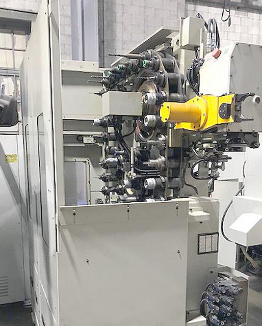 """MITSUI SEIKI HU63A 5-Axis, Fanuc 30i CNC Control, (2) 25"""" Pallets, X=35"""", Y=31.5"""", Z-31.5"""", A & B Axis= 360 Degrees, Cat-50, 6000 rpm, Only 182 Hours. Like New."""