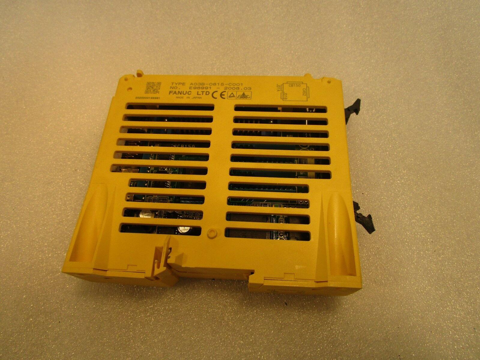 Fanuc I/O module A03B-0815-0001