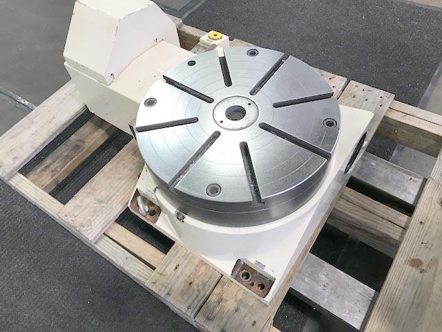 "16"" TSUDAKOMA HORIZONTAL CNC ROTARY TABLE, Model RY-401, 16"" T-Slotted Surface Plate, Fanuc Servo Motor, Hydraulic Table Brake, New 2005."