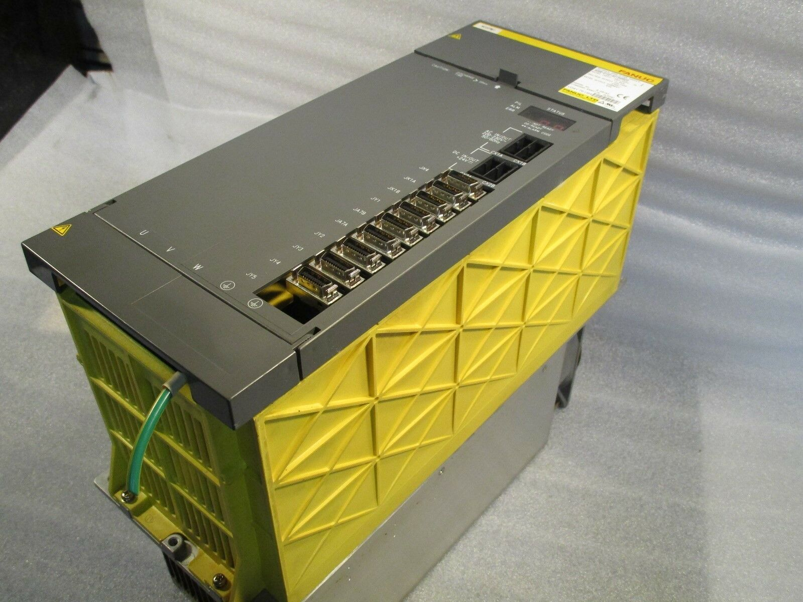 Fanuc A06B-6102-H215 #H520 Spindle Drive, Spindle Amp