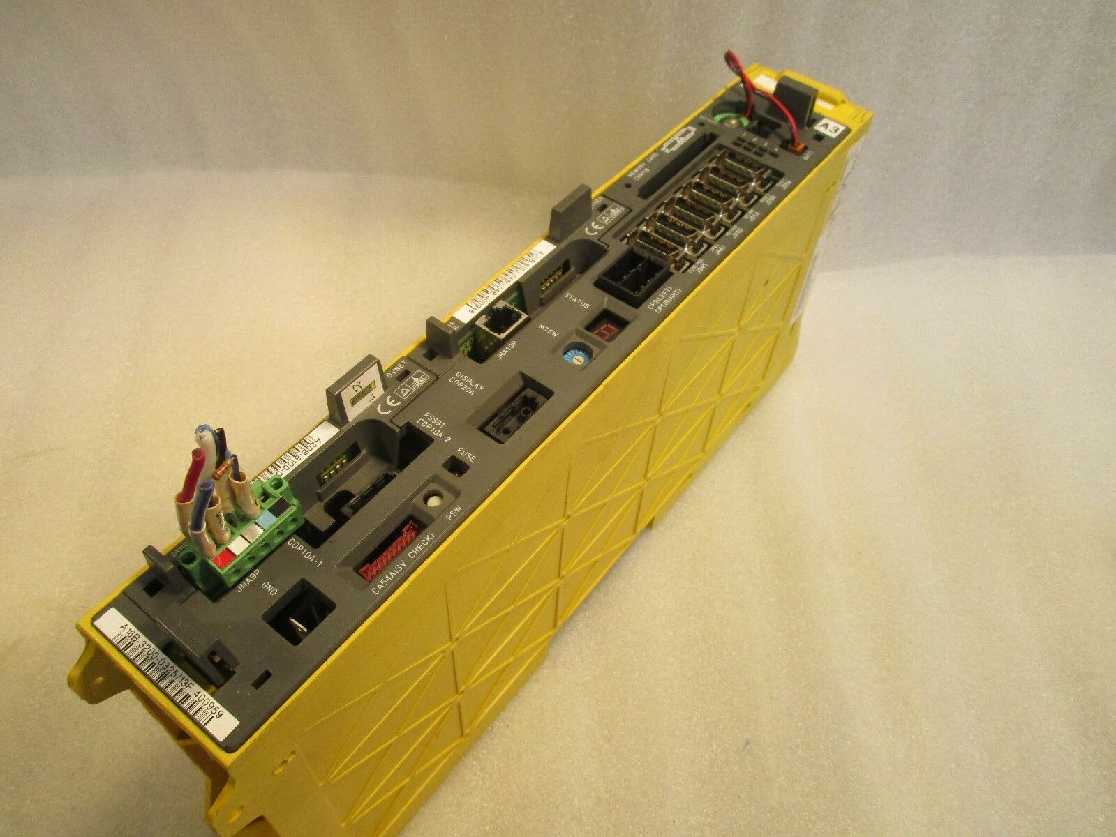 Fanuc 18i CNC Control A02B-0266-B501, A16B-3200-0325