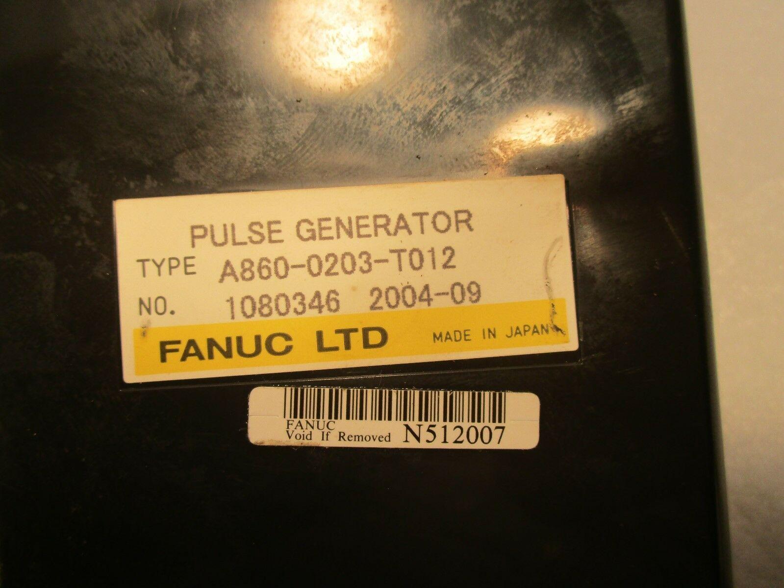 Fanuc Manual Pulse Generator Handy Pendent 3-Axis A860-0203-T012