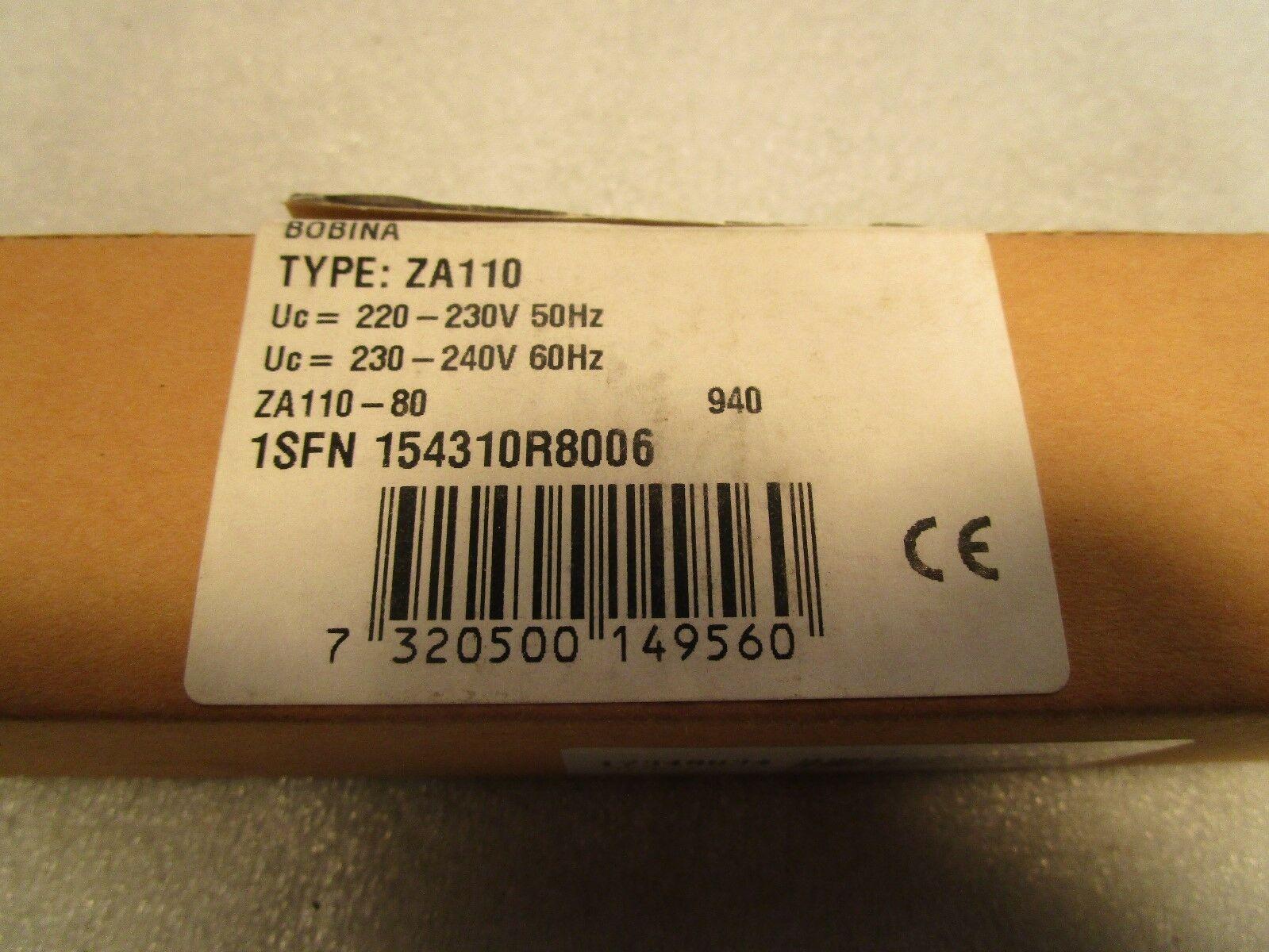 ABB A110 Coil ZA-110-80 220-240 Volt Coil Replace ZA-110-80