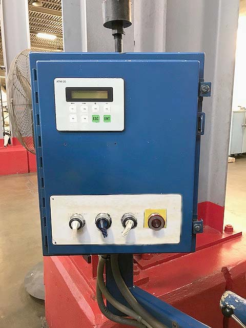 "No. TG12x3 ROYAL MASTER, 0.004"" -1-1/2"" Capacity, Thrufeed Workrest, Parts Feeder, 7.5 HP, Hydraulic Dressers, 1999."