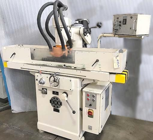 "8"" X 20"" GMN, Model MPS3, 9"" x 20"" Grinding Capacity, Vertical Spindle, Automatic Reciprocation, Incremental Power Downfeed, Hydraulic Clamping, New 1982."