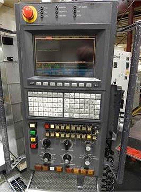"TOSHIBA BTU-14 5-Axis, Tosnuc 888 CNC, 63"" x 55"" Table, X=79"", Y=57"", Z=59"", A=150 Degree, B=360 Degree, 30 HP, 8000 RPM, 60 ATC, New 2003."