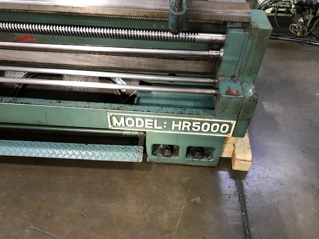 "40""/50-3/8"" x 200"" KINGSTON, 40"" Swing Over the Bed, 31"" Swing Over the Cross Slide, 200"" Centers, Inch Metric Threading, Taper Attachment, New 2000."