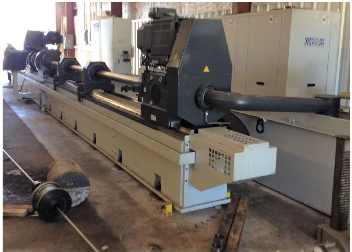 "6"" X 157"" UNISIG B-500-4B DRILLING MACHINE"