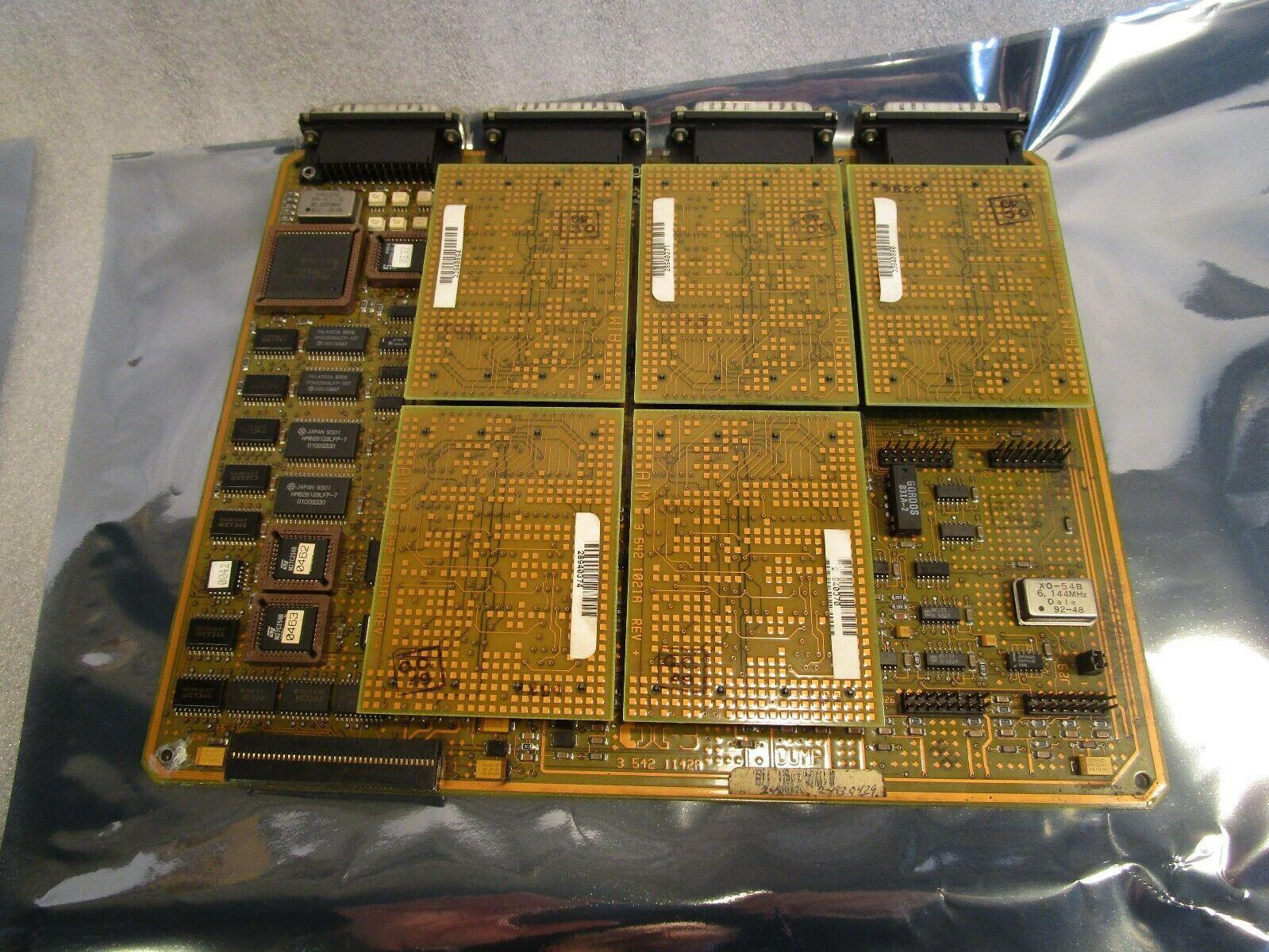 Siemens Cincinnati Acramatic 850SX CNC Control Board 3-542-1142A DUMP Board