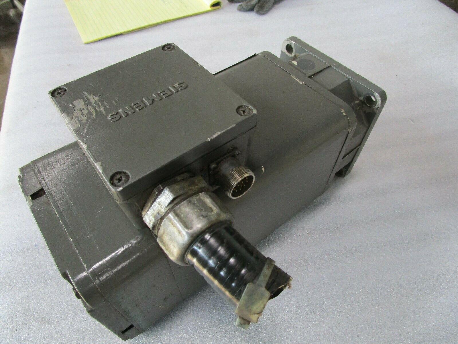 Siemens Servo Motor 1FT5074-0AC01-9-Z Cincinnati Milacron Part# 1-606-3107